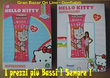 MATERASSINO MARE LETTINO HELLO KITTY ORIGINALE 185 cm MARE SPIAGGIA VACANZA