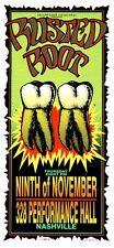 Rusted Root Concert Handbill Artist Mark Arminski