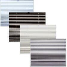 térmicas Black Out plisado estor Plegable Blanco Beige Plata 100% atenuación
