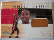 2000-01 UPPER DECK GAME FLOOR, TIM HARDAWAY , HEAT !! BOX 33
