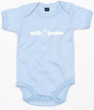MILK JUNKIE Baby-Body hellblau