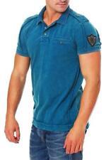 Riorim señores camiseta polo t-shirt manga corta Camisa camiseta liwanu Ocean