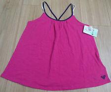 ROXY girl summer top t-shirt vest 7-8 y  NEW BNWT
