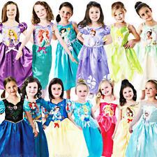 Disney Princesa Niñas Vestido De Fantasía Cuento de Hadas Libro Semana Niños Childrens Costumes