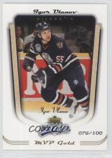 2005-06 Upper Deck MVP Gold #163 Igor Ulanov Edmonton Oilers Hockey Card