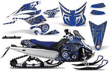 AMR RACING SNOWMOBILE DEKOR SNOW SLED GRAPHIC KIT WRAP YAMAHA FX NYTRO DEAD BLUE