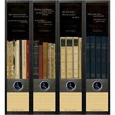 File Art 4 Design Ordner-Etiketten Books & Quotes............................050