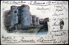 FRANCE~1901 Chateau d'Angers - Les Deux Grandes Tours