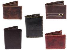 Herrenbörse Geldbörse Geldbeutel Portemonnaie aus 100 % Wasserbüffel Leder