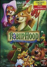 DISNEY DVD Robin Hood - ed. speciale italiana