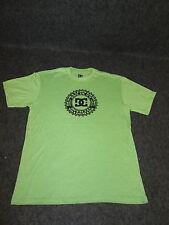 Hombre Auténtico DC Moda Informal skate bmx MX Camiseta S M L Xl Xxl Verde { 68
