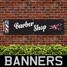 BARBER SHOP PVC BANNER SALON PRINTING ADVERTISING SIGNS (BANPN00330)