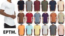 New EPTM. Men's OG Contemporary Scoop Extended Long Cotton Scoop Tee T-Shirt