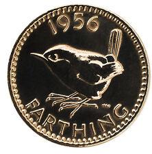 - Altamente Lucidato Moneta Farthing Compleanno Scegli la tua ANNO 1937 al 1956