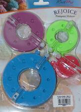 KnitPro Rejoice Pomponschablonen, Pompon-Set - 4 Schablonen, Pompon maker, 10871
