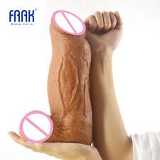 3.18'' Thick Huge Dildo Giant Penis Tough Surface Sex Toys Vagina Stuffed US Siz
