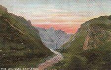Postcard The Winnats Castleton UK