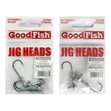 "Jigkopf /""redondo cabeza/"" jigheads cantidad 2x talla 8//0"