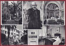 IMPERIA SANREMO 103 DIVINA PROVVIDENZA DON ORIONE Cartolina viaggiata 1966