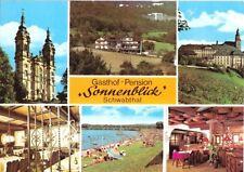 """AK, Schwabthal, 6 Abb, u.a. Gasthof """"Sonnenblick"""", 1980"""