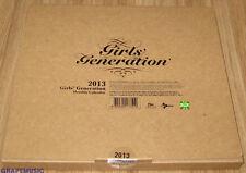 GIRLS' GENERATION SNSD 2013 SM OFFICIAL DESK CALENDAR SEALED