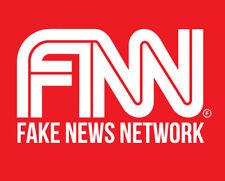 FNN Fake News Network shirt President Donald Trump CNN Fox News USA t-shirt