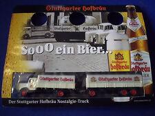 Modèle Voiture Miniature Camion bierlaster Büssing 6000 8000 Stuttgart Hofbräu MW