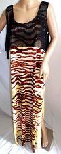 Ninety Women Plus Size 1x 2x 3x  Animal Print Maxi Long Summer Sun Dress