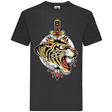 Tiger And Knive t-shirt