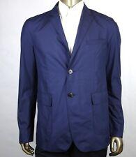 $1250 Gucci Men's Navy Blue Polyester Light Weight Techno Jacket 352983 4379