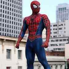 SPIDER-MAN COSTUME MOVIE QUALITY REPLICA COSPLAY SUIT RAIMI TOBEY MAGUIRE