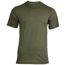 Mil-Tec Homme US Armée T-Shirt Militaire 100% Coton Gris Vert Olive S – 3XL