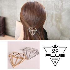 Elegant Lady Gold Silver Diamond Hair Clips Pins Clip Barrettes Accessories AU