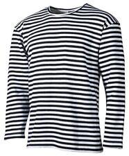 Russ. MARINESHIRT Streifen Sailor Marinehemd Matrosenhemd Longsleeve T-Shirt TOP