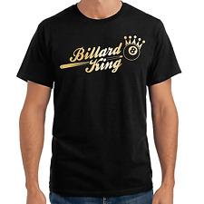 Billar King | Sport | piscina | 8-Ball | rey | Crown | Fun | S-XXL T-Shirt