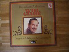 WILL GLAHÉ (Glahe) Das goldene Akkordeon LP/GER/FOC