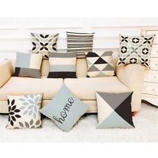 Home Decor Cushion Cover Simple Geometric Throw Pillowcase Pillow Covers