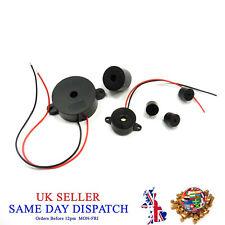 Active Beeper Piezo Sensor Alarm Sound Beep Sounder Buzzer Elements