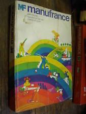 catalogue manufrance 1971  /armes et cycles
