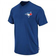 MLB Toronto Blue Jays Majestic Men's Cool Base 2 Button Replica Jersey Shirt