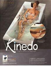 PUBLICITE ADVERTISING 2010  KINEDO votre solution anti-cellulite à domicile