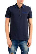 Versace Collection Men's Blue Short Sleeve Polo Shirt Sz S M L XL 2XL