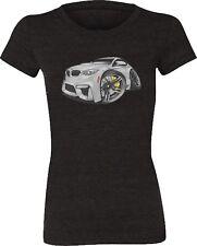 BMW F82 M4 Coupe Silver Grey Koolart T-Shirt for Women