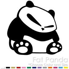 FAT PANDA JDM CAR HOOD WINDOW VINYL DECAL STICKER (FP-01)