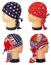 Zandana Bandana USA Texas Stars Stripes  Biker Kopftuch Rocker Tuch Nickytuch