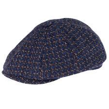 Tweed Mezcla de lana para hombre Flat Cap. boina Sombrero Azul Marino para  Hombre 73ab8f15d48