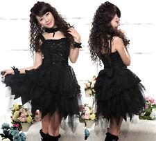 Gothique lolita GLP robe bretelle Collier Bracelet mardi Gras Costume Carnaval dress