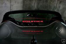 Pontiac Solstice Wind Deflector Windblocker Windscreen