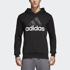 New With Tags Mens Adidas Essential Linear Athletic Hoodie Hooded Sweatshirt