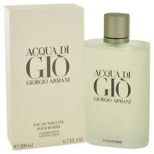 Acqua Di Gio Cologne Giorgio Armani Men Fragrance Eau De Toilette EDT 1 1.7 3.3